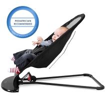 The child's own movements make the bouncer rock. No batteries are ...