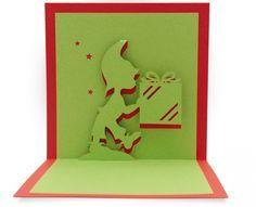 Un pt modèle pour Noël avec ce petit lutin portant un cadeau dans les mains... qui peut être décliné pour un anniversaire d'enfant aussi... Un patron a retrouver ici Amusez vous bien!!