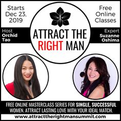 A FREE online summit hosted by Orchid Tao Feeling Frustrated, Youre Not Alone, Lasting Love, You Sure, The Right Man, Dating Tips For Women, Successful Women, Master Class, Tao