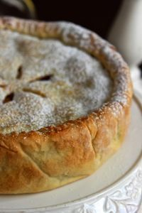 La Torta adatta in ogni occasione: l'apple pie. My Recipes, Italian Recipes, Sweet Recipes, Cake Recipes, Torte Cake, Cake & Co, Best Apple Pie, Sweets Cake, Something Sweet