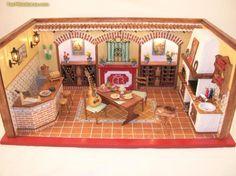 Foro de casas de muñecas y miniaturas :: Ver tema - Escena bodega andaluza
