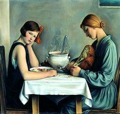 La Tailleuse de Soupe, 1933, by Francois Emile Barraud