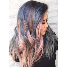 Pin for Later: 16 Cotton Candy Hair Color Ideas So Sweet, You Might Get a Cavity