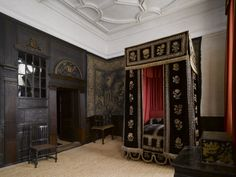 The Mary, Queen of Scots Room at Hardwick Hall, Derbyshire