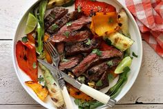 No need to buy the really expensive cuts of beef when you can grill a hot, tender and juicy skirt steak for much less. Complete paleo recipe and tips included.