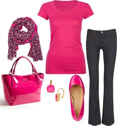 """Pink Love"" by honeybee20 on Polyvore"