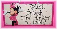 Minnie Mouse Bathroom, my daughter loves her