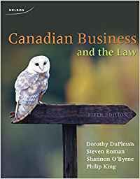 Canadian Business And The Law 5th Edition Download