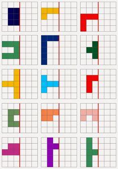 Lernstübchen: Spiegeln Source by Visual Perceptual Activities, Symmetry Activities, Preschool Activities, Kindergarten Math, Teaching Math, Montessori Math, Math For Kids, Preschool Worksheets, Primary School