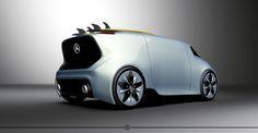 Mercedes Benz Concept Project / in WIP on Behance Best Luxury Cars, Luxury Suv, Mercedes Suv, Solar Car, Car 3d Model, Vanz, Daimler Benz, Van Car, City Car