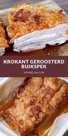 Pork Belly Recipes, Chicken Recipes, Dutch Recipes, Asian Recipes, Food N, Food And Drink, Kamado Bbq, Wine Recipes, Snack Recipes