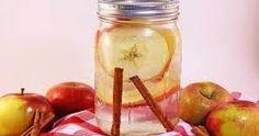 Os Meus Remédios Caseiros: Bebida emagrecedora: água metabólica de maçã, canela e pepino (receita caseira)