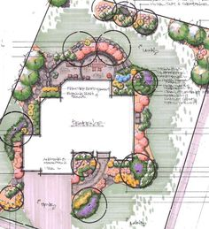 Landscape Designs « Hively Landscaping--colourful rendering