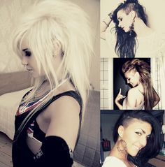 Want this Sidecut! The blonde hair one...not platinum though.