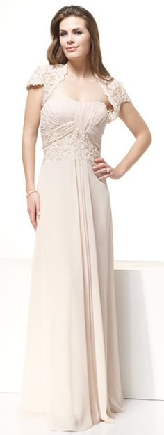 Buy First-rate Sweetheart Column Floor Length Lace Coat Ruffles Attractive Mother Of Brides Dress Online Cheap Prices