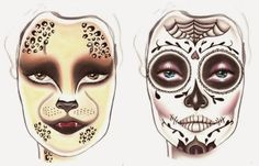 Jillian Undercover: Halloween Make Up! Cat Lady + Day of the Dead