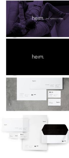 heim. Identity by VisualCast Designology Indonesia