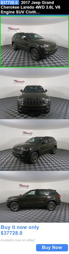 SUVs: 2017 Jeep Grand Cherokee Laredo 4Wd 3.6L V6 Engine Suv Cloth Seats New 2017 Jeep Grand Cherokee Sunroof Backup Camera Uconnect 8.4 Heated Seats BUY IT NOW ONLY: $37728.0
