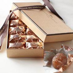 La Maison du Chocolat Glazed Chestnuts #williamssonoma
