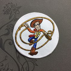 Toy Story Woody Patch Cowboy Patch Individuality Hat patches Cartoon patches Embroidered Iron On Patch sew on patches