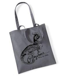 Bolsa de Algodón serigrafiada con el logo de Ofegabous creado por el gran Wences Lamas.Muchas gracias GENIO!