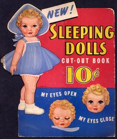 "Queen Holden ""Sleeping Dolls"" Promotional Stand Up"