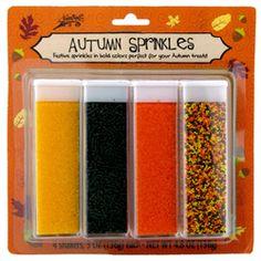 Autumn - Sprinkles Autumn Mix, 5.6 oz