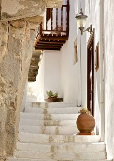 ♔ Stairs in Chora ~ Naxos ~ Greece