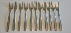 Vintage WM Rogers Stainless Steel Fish Forks by AmyFindsEverything
