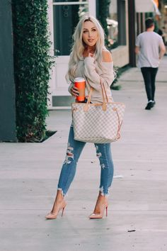 My Favorite Nordstrom Sweater – louis vuitton handbags outfits Cute Fall Outfits, Fall Winter Outfits, Stylish Outfits, Feminine Fall Outfits, Spring Outfits Classy, Fall Outfits 2018, Summer Outfits, Look Fashion, Denim Fashion