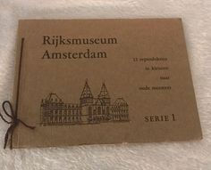 RIJKSMUSEUM AMSTERDAM SERIE 1-12 gekleurde reproducties, Made Holland  | eBay