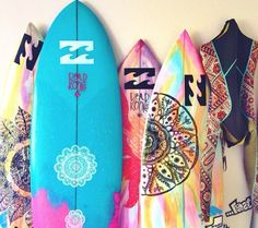 surfboards aesthetic