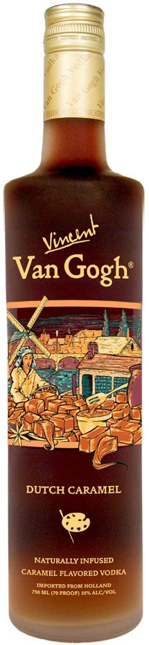 AMERICANcocktails.com - Van Gogh Dutch Caramel Vodka Review