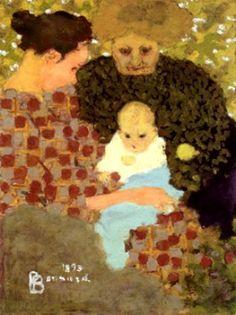 PIERRE BONNARD, Les trois âges (1893)