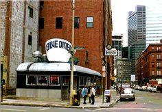 Blue Diner, Boston circa 1987