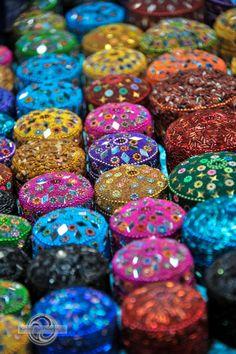 Queen Victoria Markets, Victoria 2 Colours, All The Colors, Queen Victoria Market, Happy Holi, Crazy Colour, Art World, Rainbow Colors, Market Stalls, Cutlery
