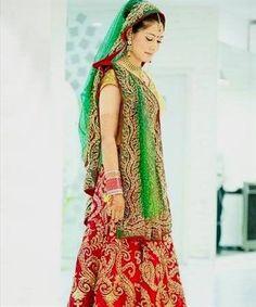 Cool green indian wedding dresses 2018-2019