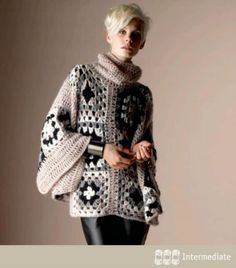 First Born Crochet Poncho | Easy Crochet Poncho Patterns for Women | Crochet Projects