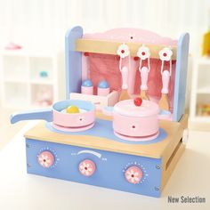 AndreuToys - Blue Tabletop Kitchen