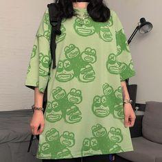 Off Shoulder Tops, Cold Shoulder Dress, Frill Shirt, Frog T Shirts, Korean Fashion Trends, Striped Crop Top, Shirt Style, Long Sleeve Tops, Crop Tops
