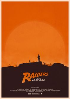 Raiders of the Lost Ark - movie poster - Mark Kristensen