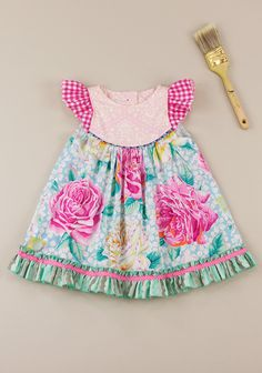 Tweetle Dee Flutter Dress (RV $72)