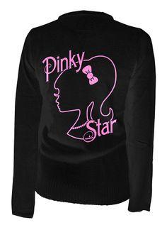 "Women's ""Silhouette"" Cardigan by Pinky Star (Black) #inkedshop #silhouette #cardigan #pinkystar"