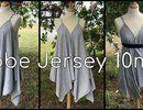 Coudre une Robe en Jersey en 10 mn - Tuto Couture DIY