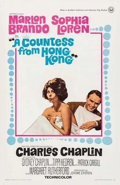 A Countess From Hong Kong (1967) Directed, Produced and Written by #CharlieChaplin Starring #MarlonBrando #SophiaLoren #SydneyChaplin #TippiHedren #PatrickCargill #MargaretRutherford #ACountessFromHongKong #Hollywood #hollywood #picture #video #film #movie #cinema #epic #story #cine #films #theater #filming #movies #moviemaking #movieposter #movielover #movieworld #movielovers #movienews #movieclips #moviemakers #drama #filmmaking #cinematography #filmmaker #screen Margaret Rutherford, Kong Movie, Movie Talk, Universal City, Original Movie Posters, Marlon Brando, Charlie Chaplin, Studio City, Sophia Loren