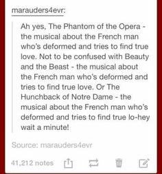 Remind me again, what was Cyrano de Bergerac about? - Things that make me laugh - Beauty My Tumblr, Tumblr Funny, Funny Quotes, Funny Memes, Hilarious, Funny Tweets, It's Over Now, Nos4a2, Theatre Nerds