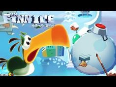 How to Clear Angry Birds Season On Finn Ice Level 1