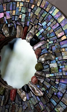 Mosaics by Ariel :: This is lovely with the mother of pearl in all its glory!