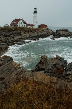 Portland Head Light - by Darren Stone - Portland, Maine, Autumn 2012