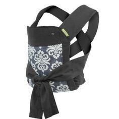 this is a great, inexpensive baby carrier. front, hip, and back carries! luke loves it :)